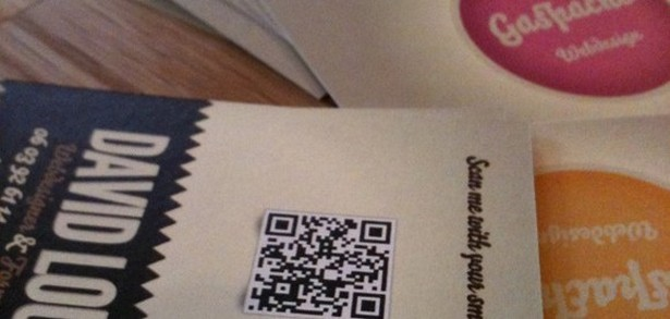 Creation Dune Carte De Visite Avec Code QR